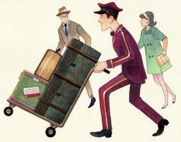 Luggage Porter by ColbyBluth