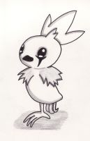 gothic torchic for leigh-leigh by MadMonkeyDane