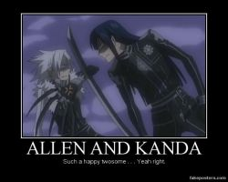 Allen And Kanda by Onikage108