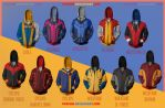 X-Men Hoodies! by prathik