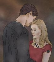 Tobias and Tris by x8xdanix6x