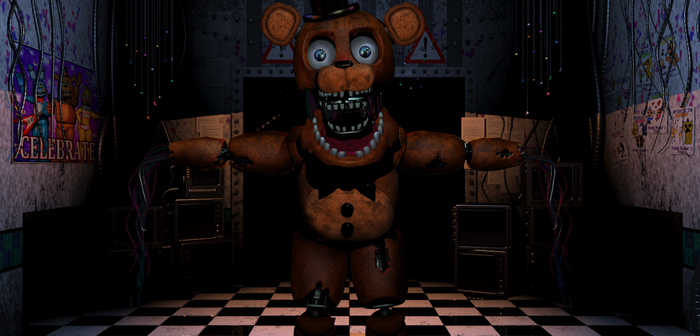 Chica as Withered Freddy - COMMISSION by PrimeYT