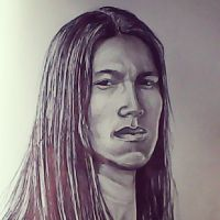 American Indian Man by raymundpecho