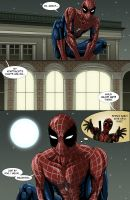 Spideypool Comic 'Never Say Never' Page 1 by jijikero
