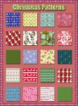 Christmas Patterns 3 by Tetelle-passion