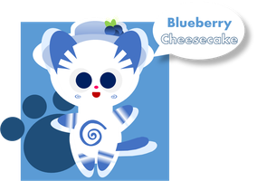 Blueberry Cheesecake by Alice-of-Africa