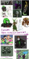 Tumblr dump - Danny Phantom + Homestuck by Sarapsys