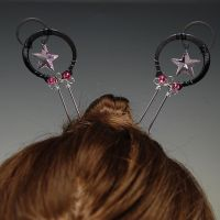 Pink Hair Pins- SOLD by YouniquelyChic