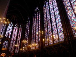 Sainte-Chapelle by Bookwrm17