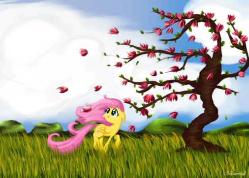Fluttershy by Momentical