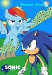 Rainbow Dash vs Sonic the Hedgehog by LightDegel