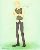 Slytherin Prince by annogueras