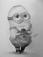 Minion Dave by HelenDraws