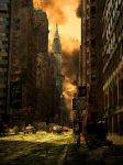New York Post-Apocalyptique by Kev1987