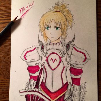 Mordred Pendragon by BrettSYR