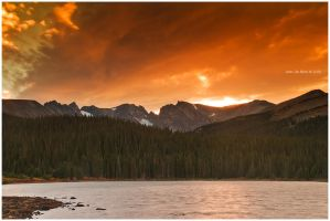 Indian Peaks by kkart