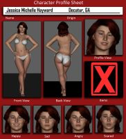 Character Profile - Jessica Michelle Hayward by MattBrewer