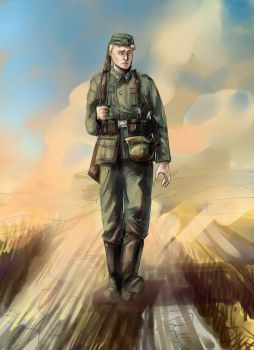 The Road to Stalingrad by Dino-kLeo