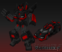 Transformers Ragewolf by Kracov