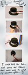 APH Romania's Tophat- Handsewn by Azurine550