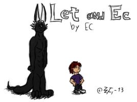 Let and EC a la Calvin and Hobbes style by EmotionCreator