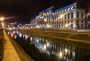 The Palace of Justice Bucharest by Petre21