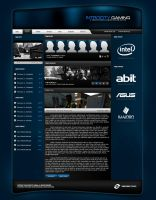 Introcity Gaming Website by zblowfish