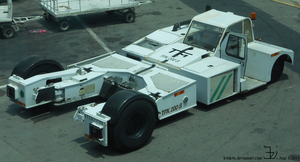 Airport tow truck  _ 3 a by K4nK4n