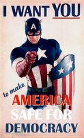Captain America Wants You! by poasterchild