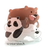 #bearstack by cricketmilk