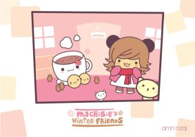 Machibie Winter Friends by amririzqi