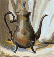 Practice 0080 GIMP Speedpaint Study Teapot after T by ludwig-a