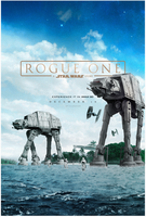Rogue One: A Star Wars Story Poster (FAN MADE) by TLDesignn