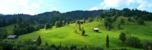 Hilly Switzerland by Cadaska