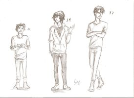 he grew up by odairwho
