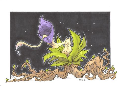 THE LAST TRIFFID ON EARTH by leagueof1