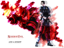 Leon RE Operation Raccoon City by tru4ever