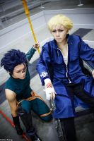 Fate/Zero Cosplay - Kayneth and Lancer by ShadowDorumon