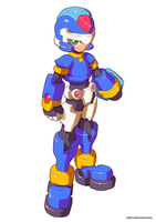 Megaman Model X (Official Style) by ultimatemaverickx