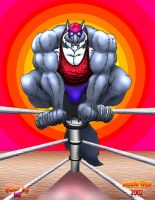 Wrestler Wolf by Blathering