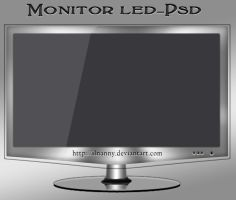 Led Monitor-psd by ilnanny