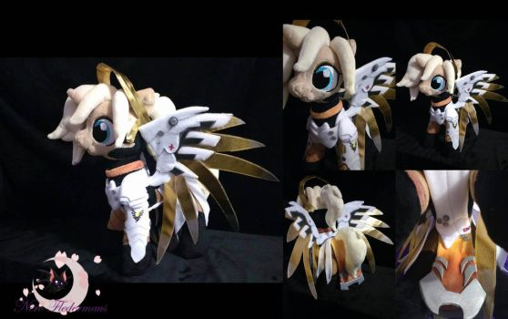OVERWATCH MERCY PONIFIED by Legadema