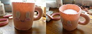 Kawaii Coffee Cup Plushie by strawberry-neco