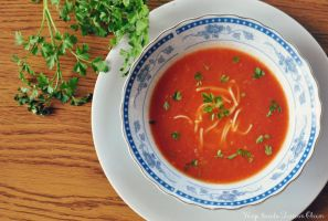 tomato soup by FiorOf