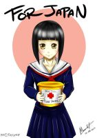 Prize: RedCross School Girl by talespirit