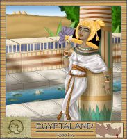 Alphabet series: Egypt by asa-bryndis