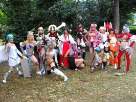 Queen's Blade group by sacchanina