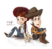 Woody and jessie by n7tiga6233