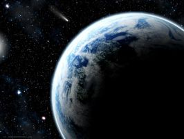 Blue Planet by steelgohst