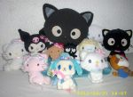 Sanrio Plush Collection Chococat and Co. 2012 by kratosisy